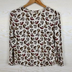 H&M Chameleon Print Novelty Long Sleeve Top